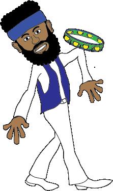 The Sambaman Drawing Pose 9